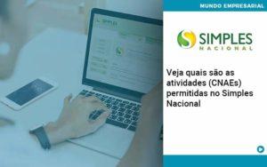 Veja Quais São As Atividades Cnaes Permitidas No Simples Nacional Organização Contábil Lawini - ACM ASSESSORIA CONTÁBIL