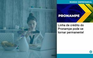 Linha De Credito Do Pronampe Pode Se Tornar Permanente Organização Contábil Lawini - ACM ASSESSORIA CONTÁBIL